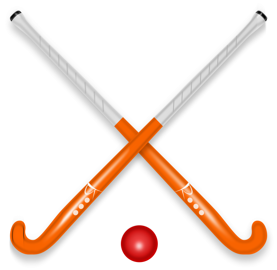 Hockey Stick   Ball Clipart Vector Clip Art Online Royalty Free