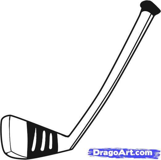 How To Draw A Hockey Stick Step By Step Sports Pop Culture Free