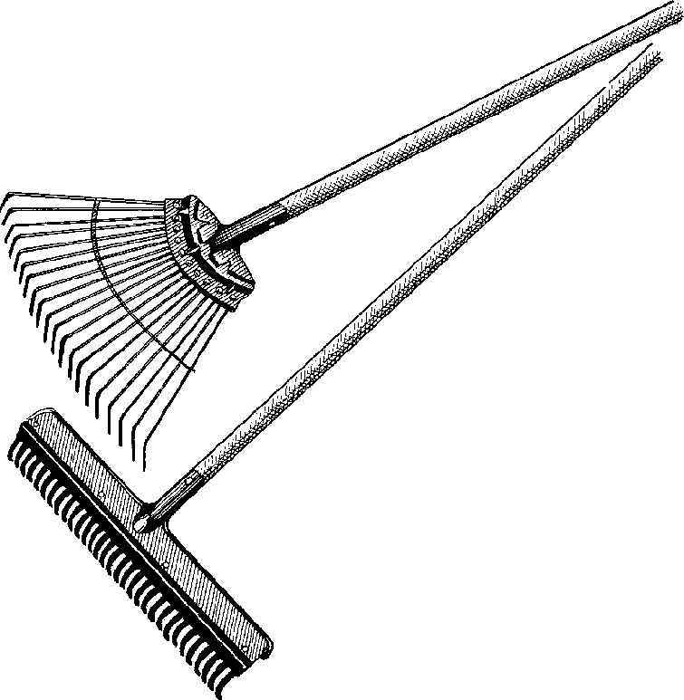 Garden Tools Black And White Clipart - Clipart Suggest
