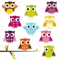 Pink Pueblo Owls On Pinterest   Owl Clip Art Owls And Baby Girl Owl