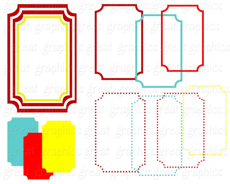 Rectangle Frame Clipart   Clipart Panda   Free Clipart Images