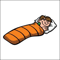Clip Art Sleeping Bag Clipart girl in sleeping bag clipart kid t shirt 154497