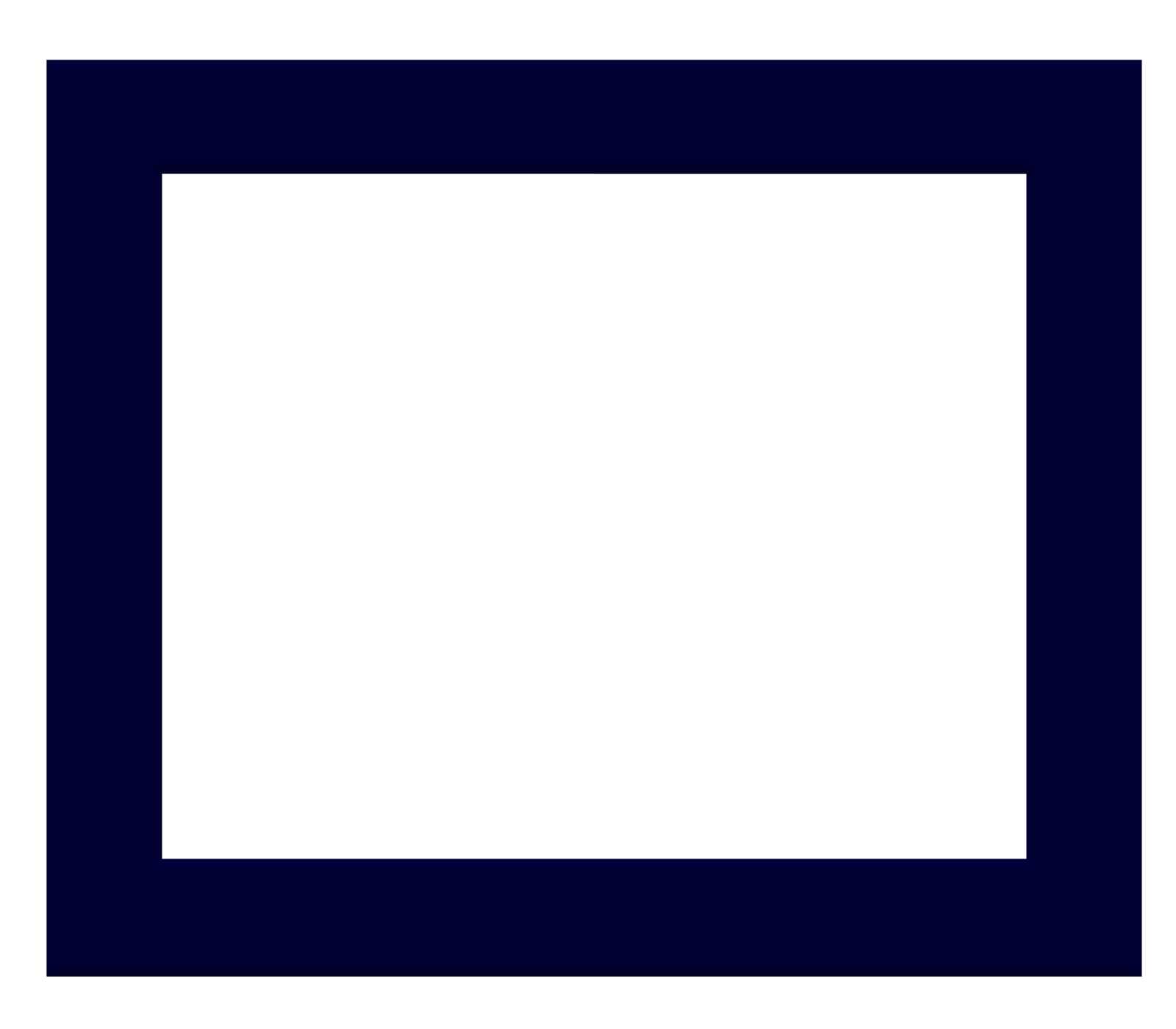 the gallery for gt rectangle frame png