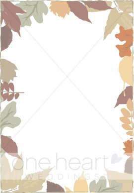Autumn Border Clipart   Fall Borders
