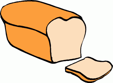 Bread Clipart Black And White   Clipart Panda   Free Clipart Images