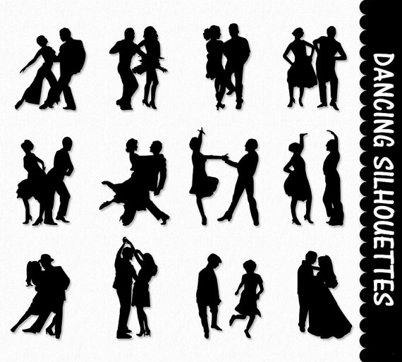 Dancers Clip Art Graphics Dancing People Clipart By Graphicssupply