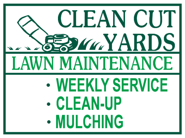 Lawn Care Clip Art Company Cliparts