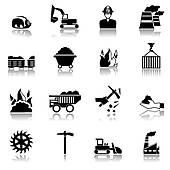 Mining Clip Art Illustrations  3334 Mining Clipart Eps Vector