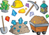 Mining Clipart And Illustrations