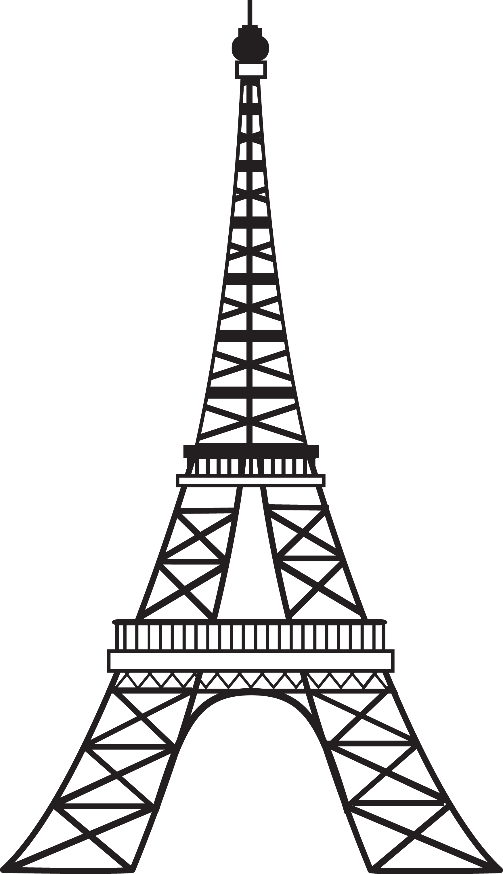 Eiffel Tower Poodle Clipart - Clipart Kid