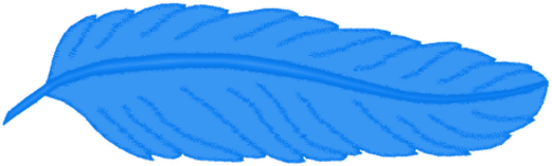 Feather Blue By Clipartcotttage On Deviantart