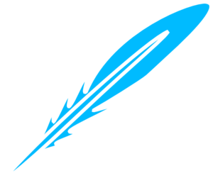 Feather Blue White Clip Art At Clker Com   Vector Clip Art Online