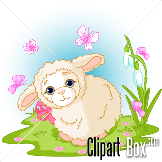 Related Cute Lamb Cliparts