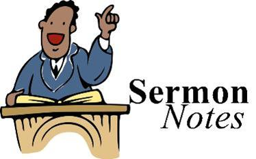 Sermons From Associate And Or Guest Speakers May Not Be Included
