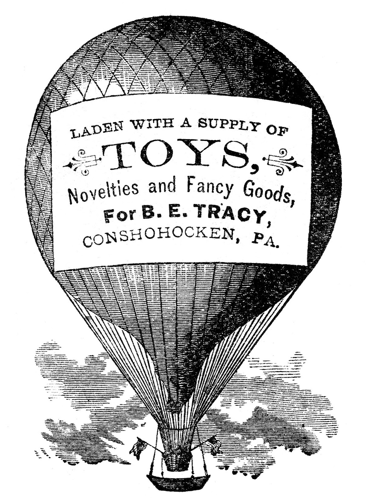 Advertising Clip Art   Hot Air Balloon   Steampunk   The Graphics