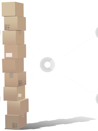 Stacked Boxes Clipart - Clipart Kid