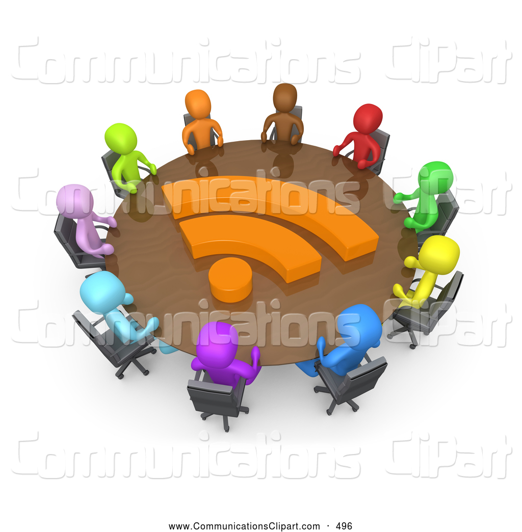 Diverse Group Of Office Business People Of Different Colors Including