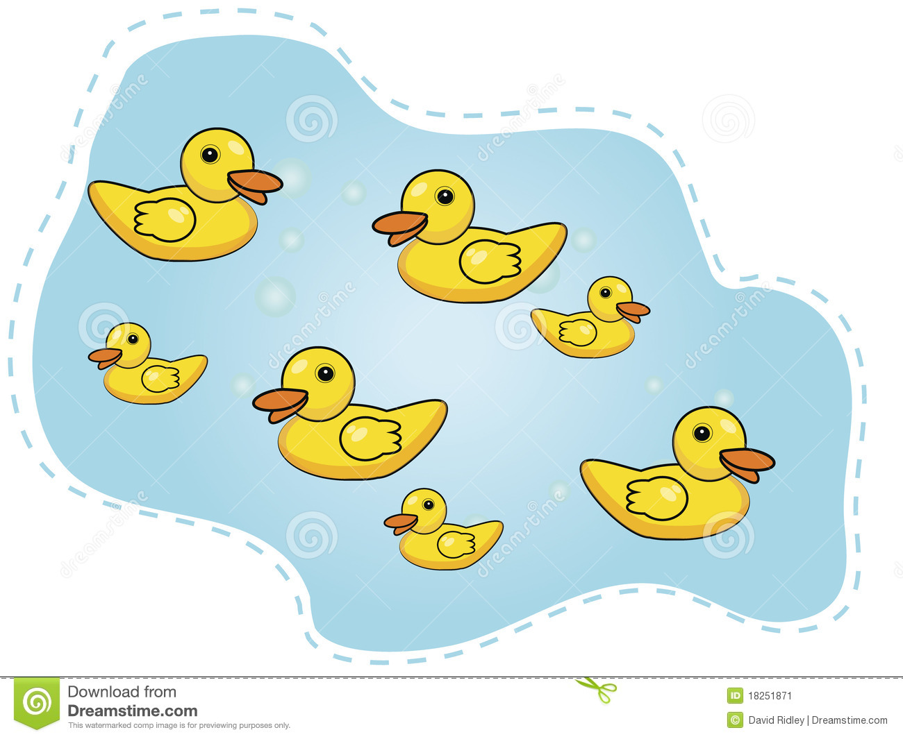 Ducks Pond Stock Illustrations Vectors   Clipart    134 Stock