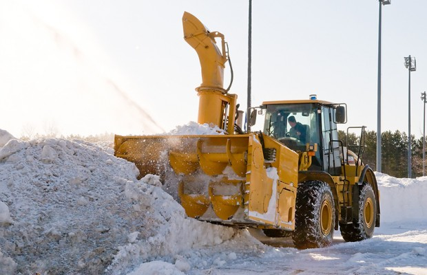 Snow Removal Crews Hit The Road
