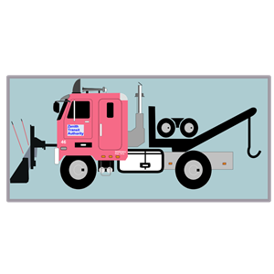 Tow Truck With Snow Plow Clipart Cliparts Of Tow Truck With Snow Plow