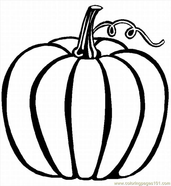 02 Lrg  Food   Fruits   Pumpkin    Free Printable Coloring Page Online