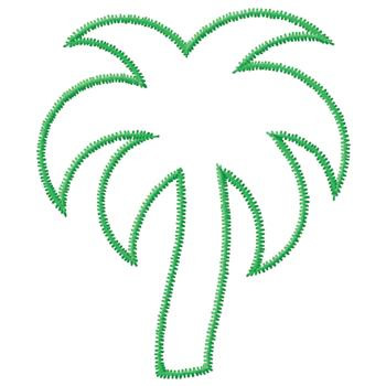 25 Palm Tree Outline Free Cliparts That You Can Download To You