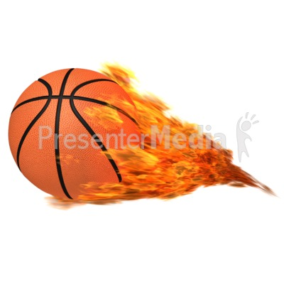 Basketball Flaming