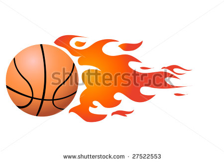 Basketball Flaming Stock Photos Images   Pictures   Shutterstock