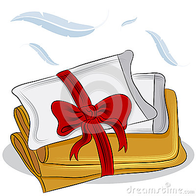 Blanket And Pillow Clipart Pillow Blanket Set 29050351 Jpg
