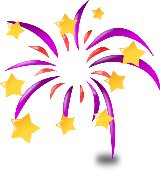 Cartoon Fireworks Clip Art At Clker Com   Vector Clip Art Online