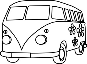 cartoon van clipart