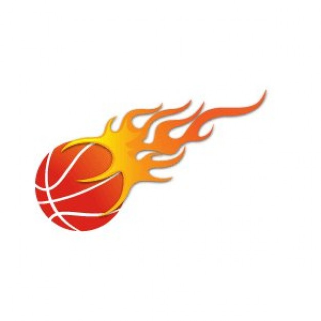 Download Free Vector About Basketball On Fire Vector Item 1 At Vector