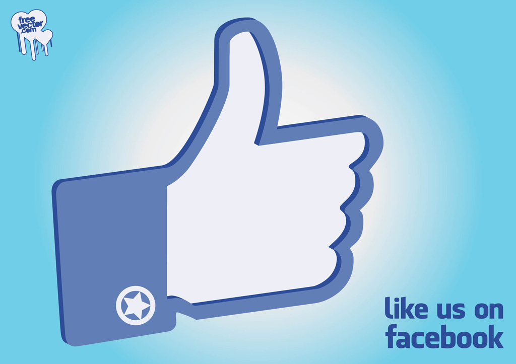 Facebook Like Icon Clipart