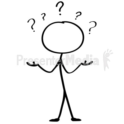 Stick Figure Thinking Clipart - Clipart Kid