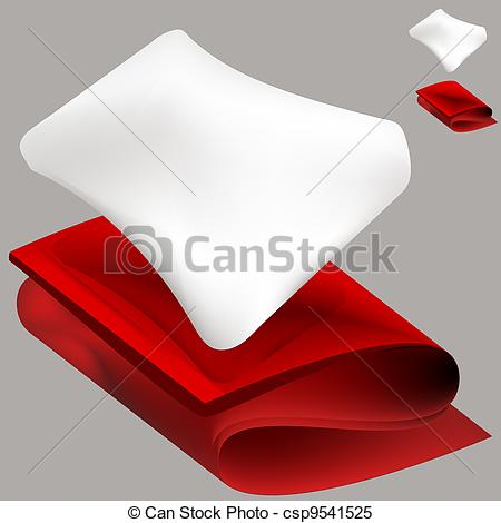 Pillow And Blanket Clipart Soft Pillow And Red Blanket