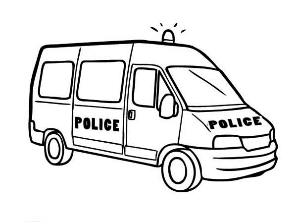 car coloring page clipart