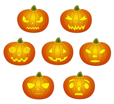 Pumpkin Clipart Printable Halloween Carving Stencils   Just Free Image