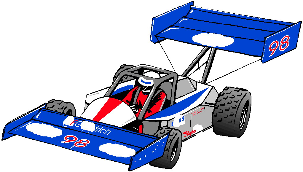 Animated Race Car Clipart - Clipart Kid