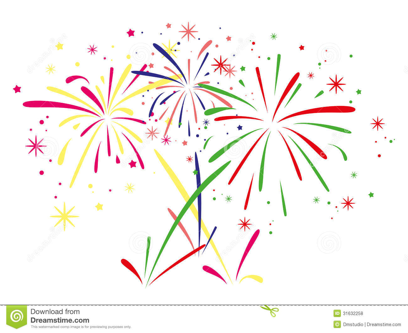 Viewing Gallery For   Animated Fireworks Clipart