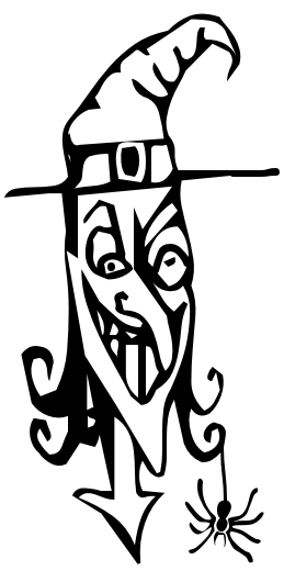 Witch Evil Grin Clipart
