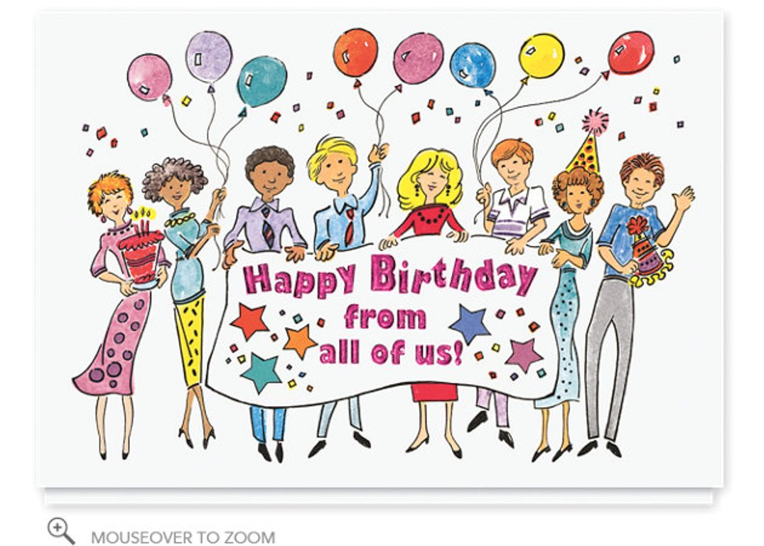 Birthday Wishes Clipart Clipart Kid – Cartoon Birthday Greetings