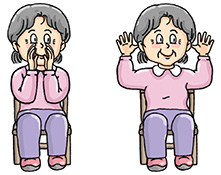 Chair Exercise Clipart