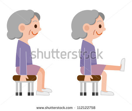 Chair Exercise Stock Photos Illustrations And Vector Art