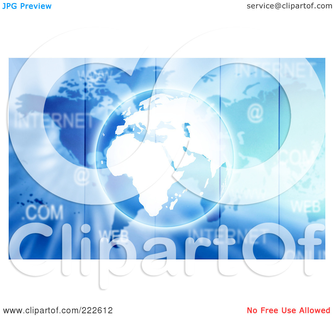 Free  Rf  Clipart Illustration Of A Business And Technology Background