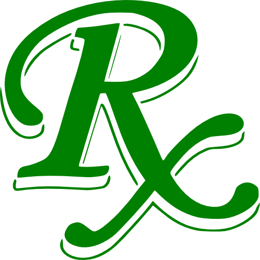 Green Medical Rx Symbol Clipart Image   Ipharmd Net