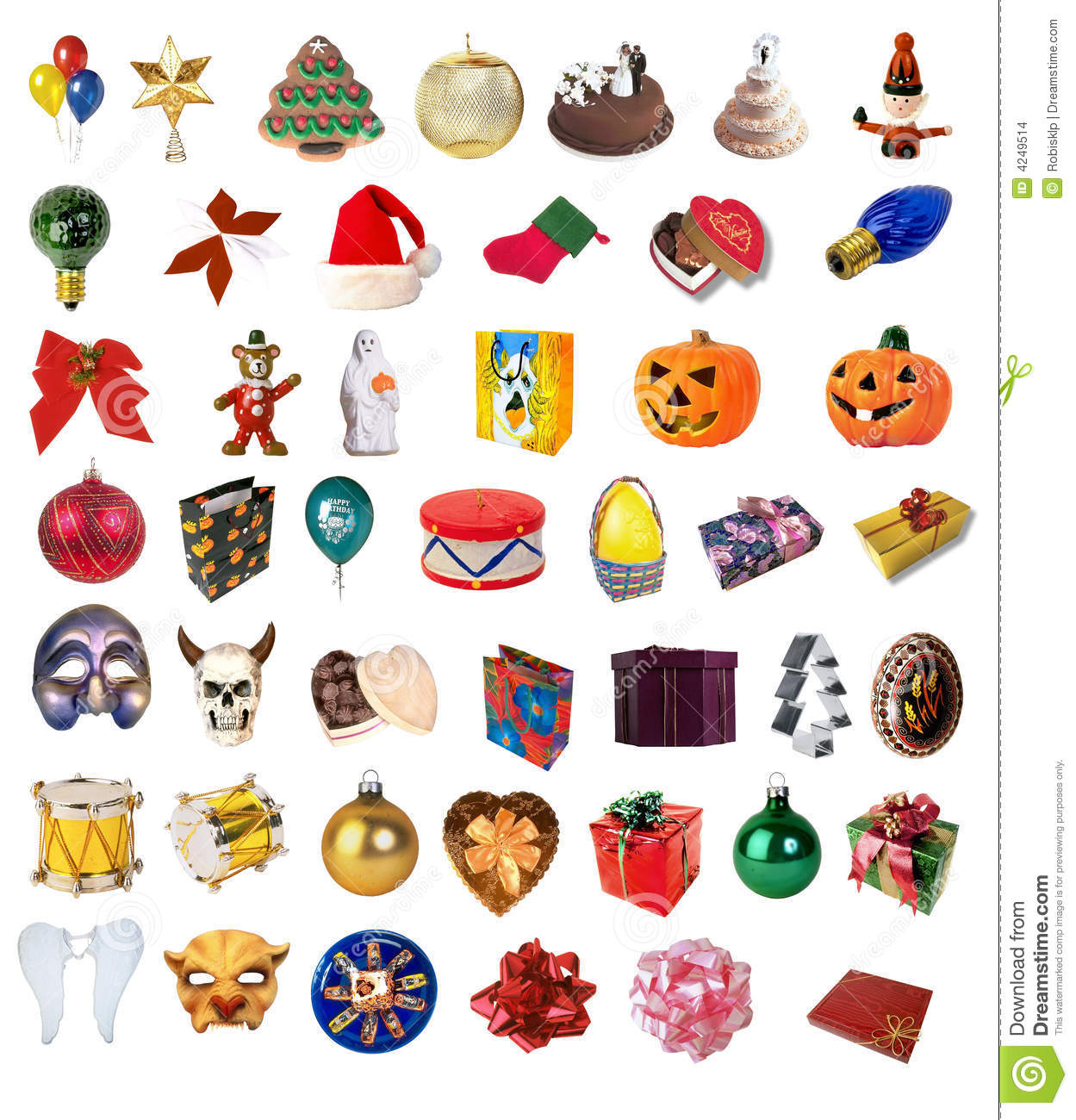 Holiday Pictures Clip Art Holiday Clipart Collection Stock Images