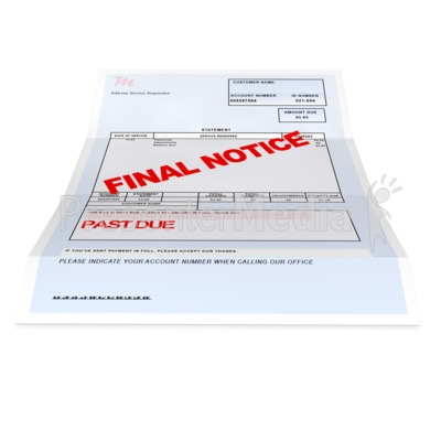 Medical Bill Past Due   Medical And Health   Great Clipart For