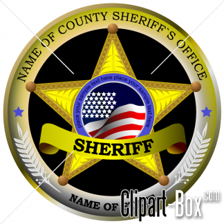Related Sheriff Logo Cliparts