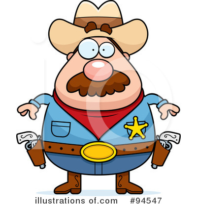 Sheriff Clipart  94547   Illustration By Cory Thoman