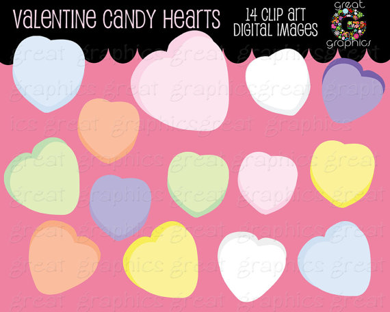 Valentine Clip Art Valentine Candy Heart Clipart Valentines Candy Clip